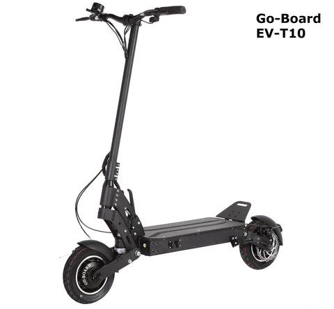 GO-BOARD EV-T10 Electric City Scooter String Suspension 1600W/60V/15Ah