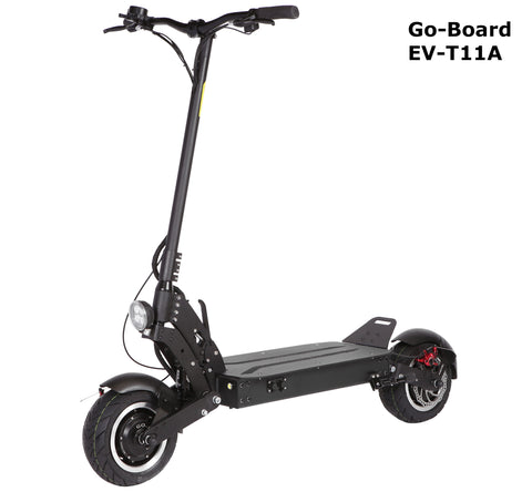 GO-BOARD EV-T11A Electric City Scooter AIR SUSPENSION 2000W/60V/25Ah