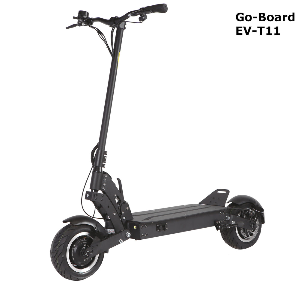 GO-BOARD EV-T11 Electric City Scooter String Suspension 2000W/60V/15Ah