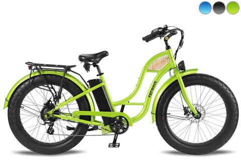 T4B - Beach Cruiser Fatbike FATWAVE Low Step 500W 48V14.5Ah