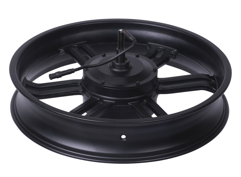 Michael Blast - Outsider Fat Tire Mag Wheel with 500W Brushless Electric Motor