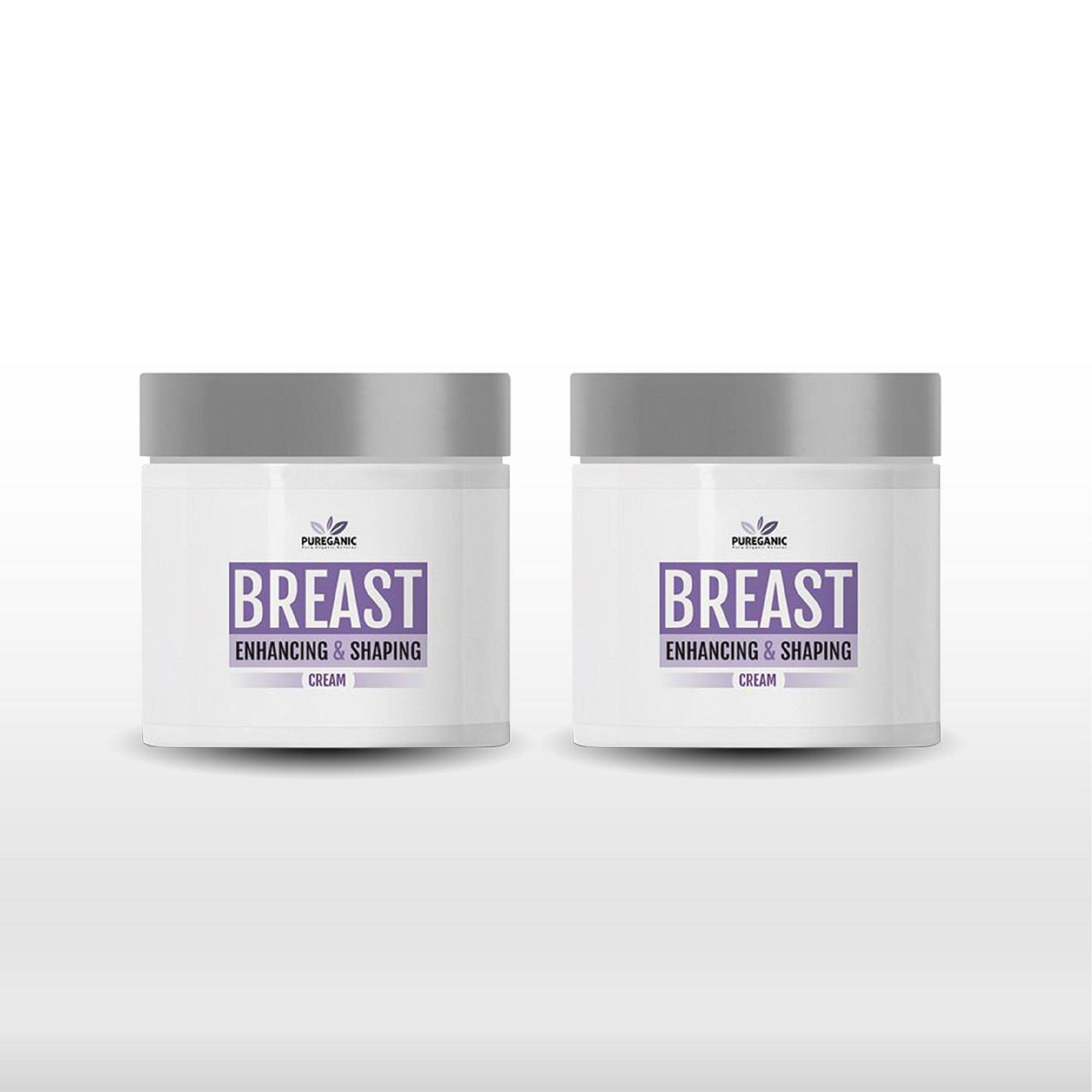 Pureganic Breast Enhancing Cream - 2 Pack