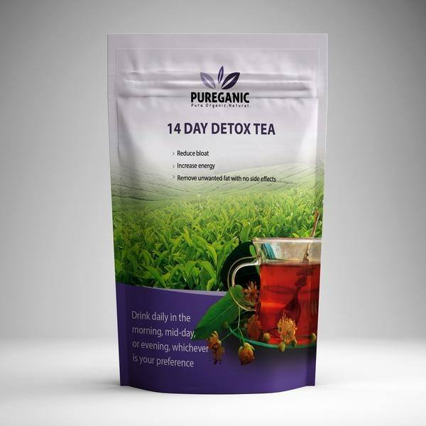 Pureganic 14 Day Detox Tea Package
