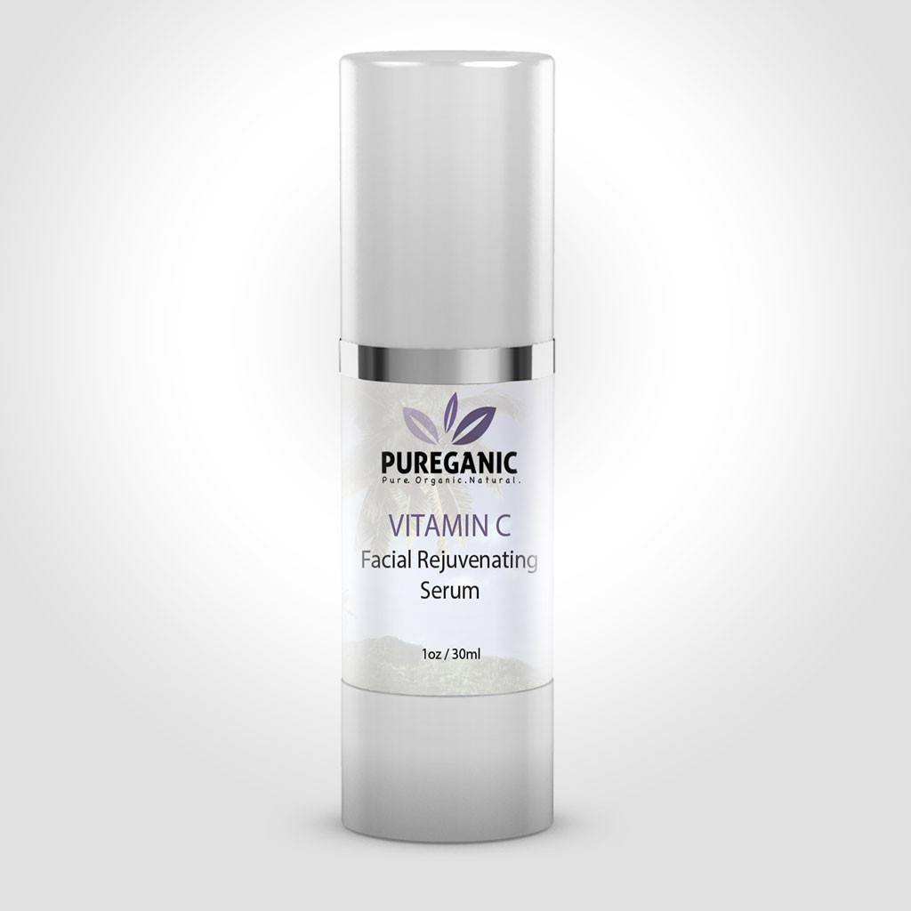 Pureganic Vitamin C Serum Bottle
