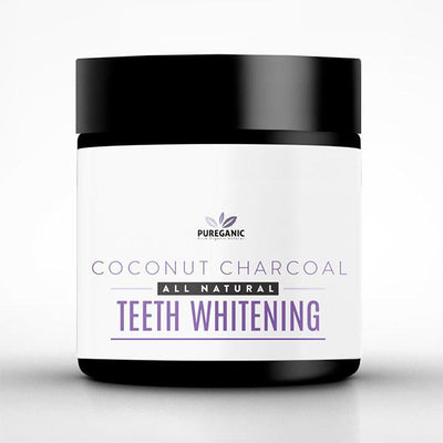 Pureganic Coconut Teeth Powder Container