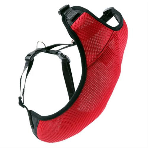 RC Pets Vented Vest Harness 1 in Red