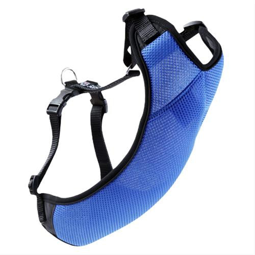 RC Pets Vented Vest Harness 1 in Blue