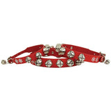 Leather Jingle Bell Collar