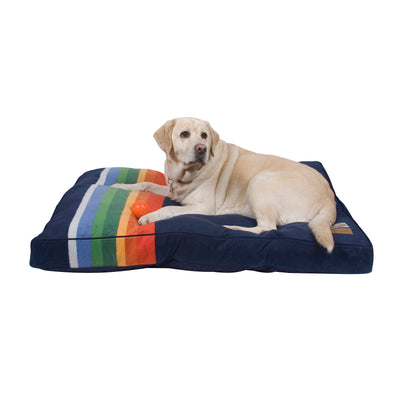 lab on Crater Lake National Park Dog Bed