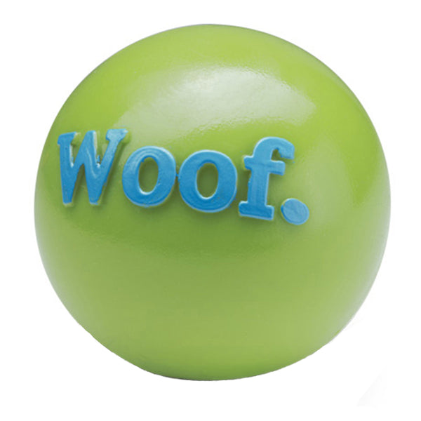 Planet Dog Woof Green Orbee-Tuff Ball for dogs