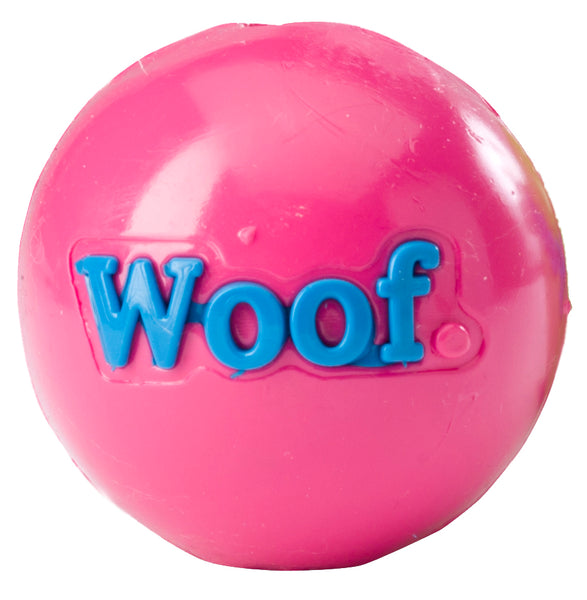 Planet Dog Woof Pink Orbee-Tuff Ball for dogs