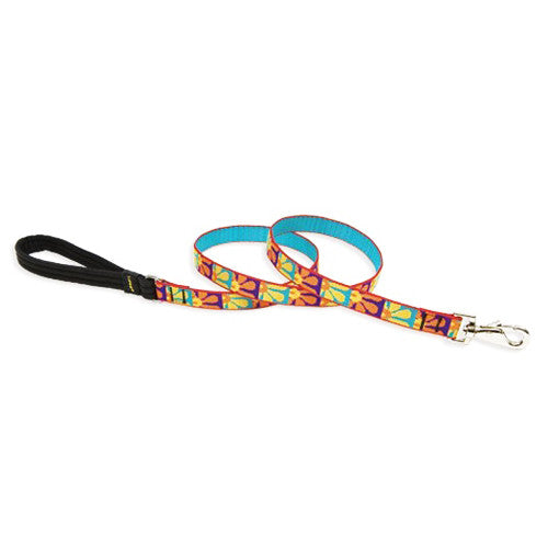 Lupine Crazy Daisy padded handle lead