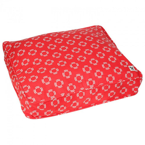 Molly Mutt dog bed duvet - Lady in Red