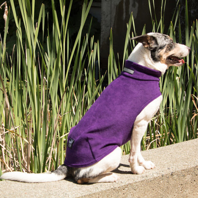 Tekcelklub Fuzzie Fleece Dog Coat
