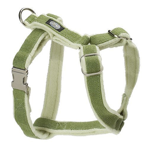 Planet Dog Hemp Harness - Apple Green