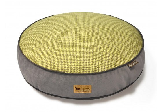 P.L.A.Y. Houndstooth Round Dog Bed