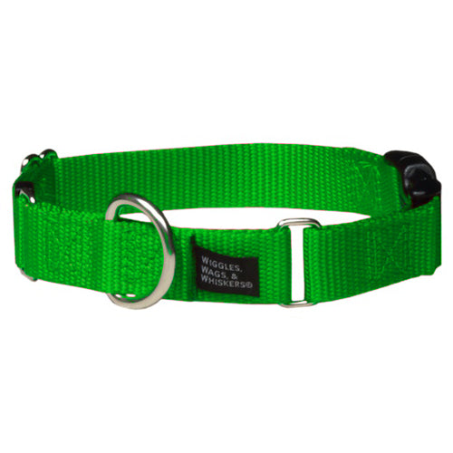 Neon Green Martingale Collar