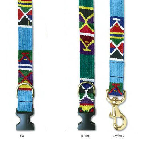 "A Tail We Could Wag ""Moab"" Hand-Woven Collars & Leads"