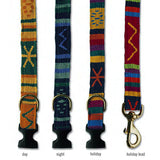 "A Tail We Could Wag ""Sun Valley"" Hand-Woven Collars & Leads"
