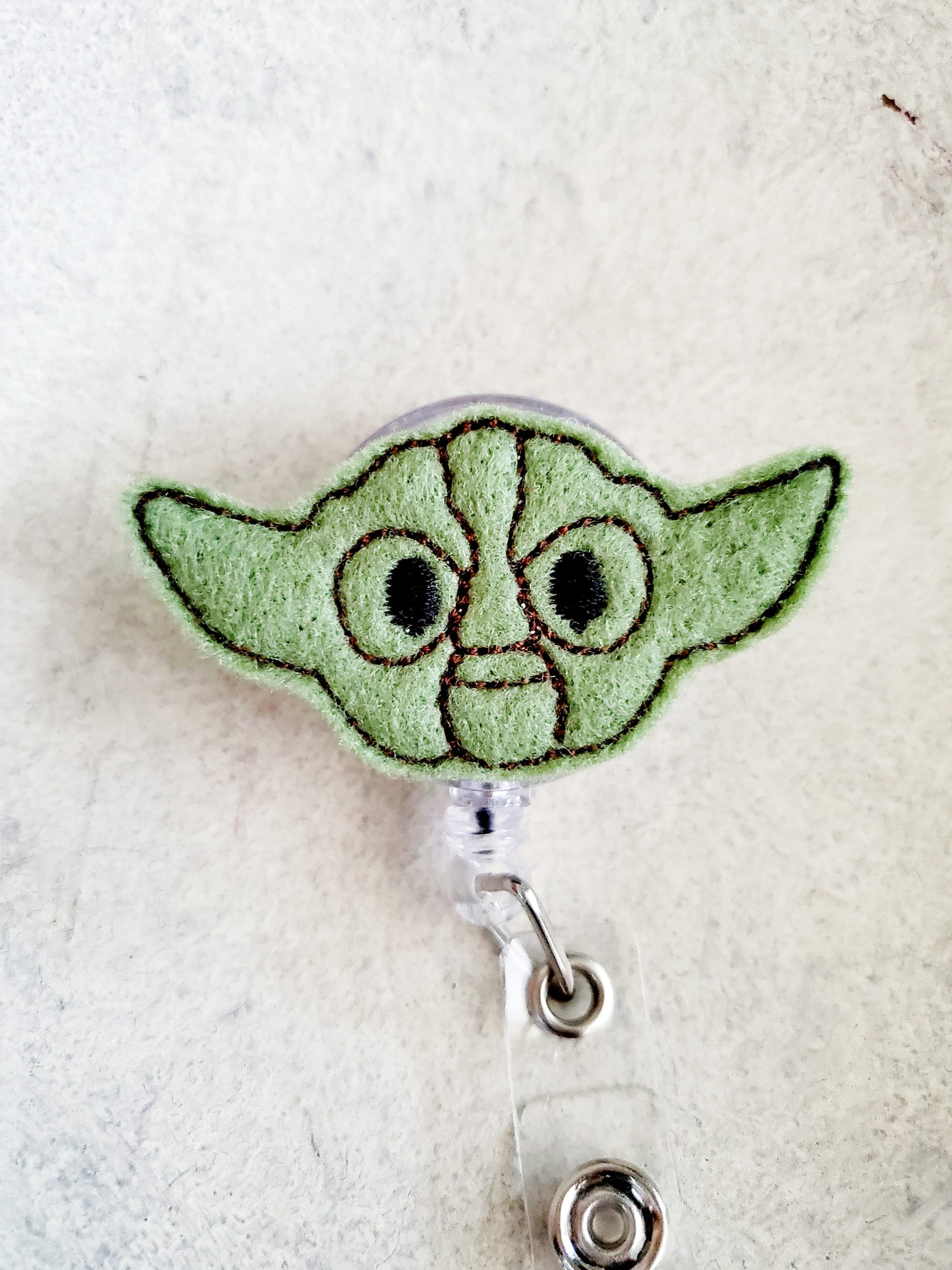 Yoda Badge Reel - love tan co.