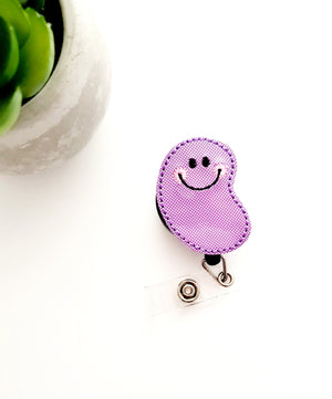 Jelly Bean Badge Reel - Glitter - love tan co.