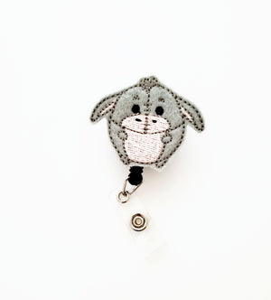 Eeoyre Fufu Badge Reel - love tan co.