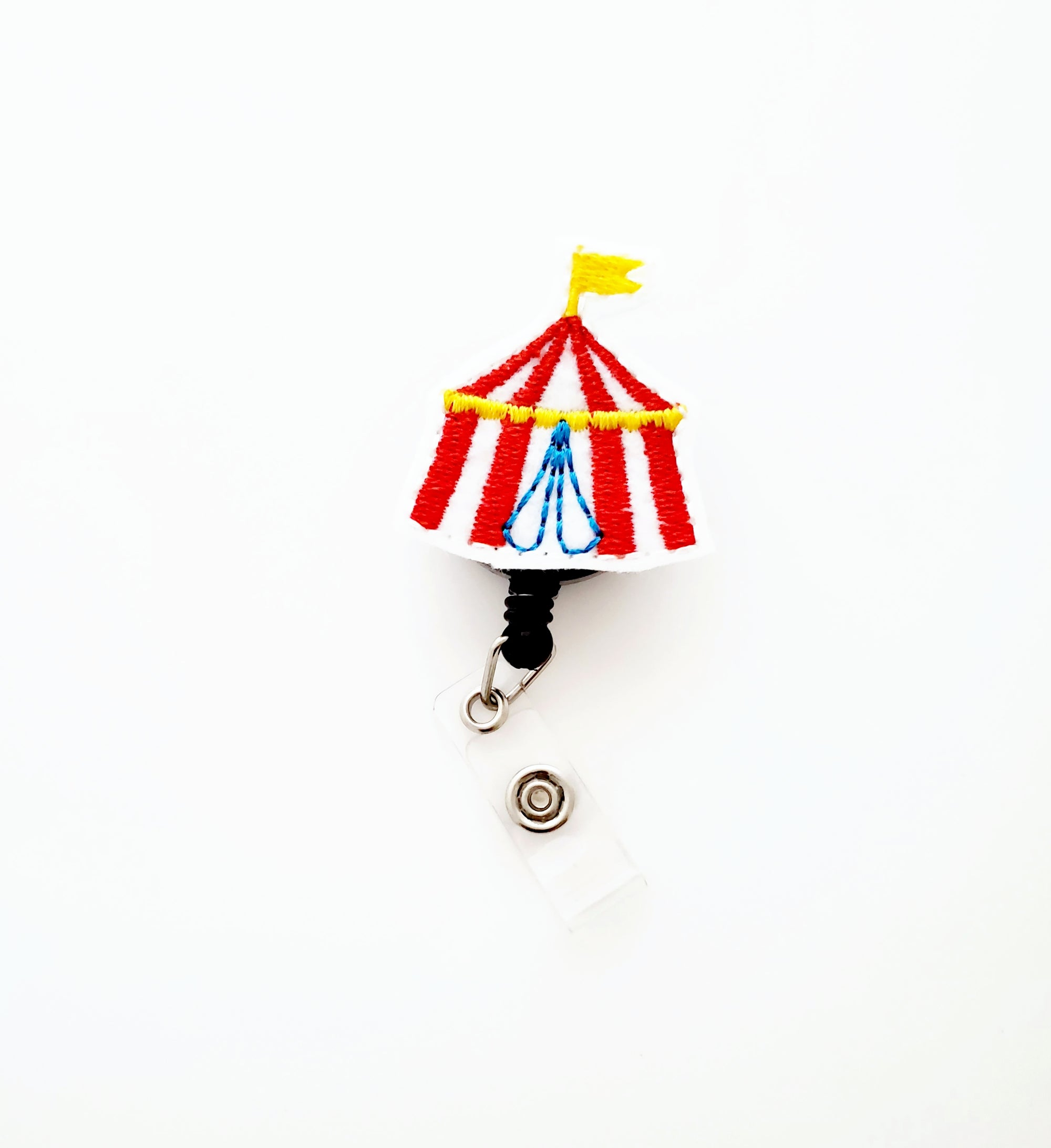 Circus Tent Badge Reel - love tan co.