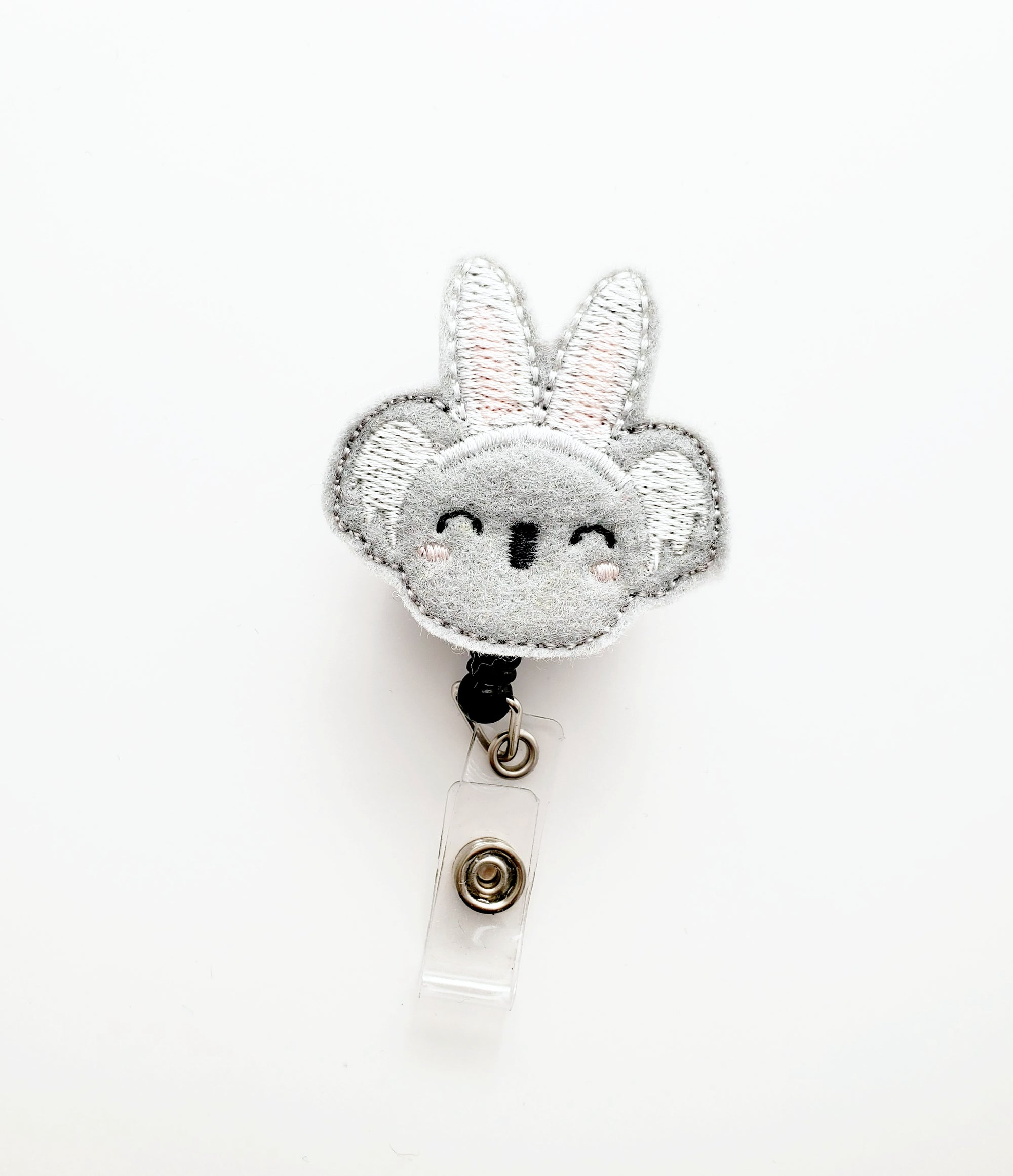 Easter Koala Bunny Badge Reel - love tan co.
