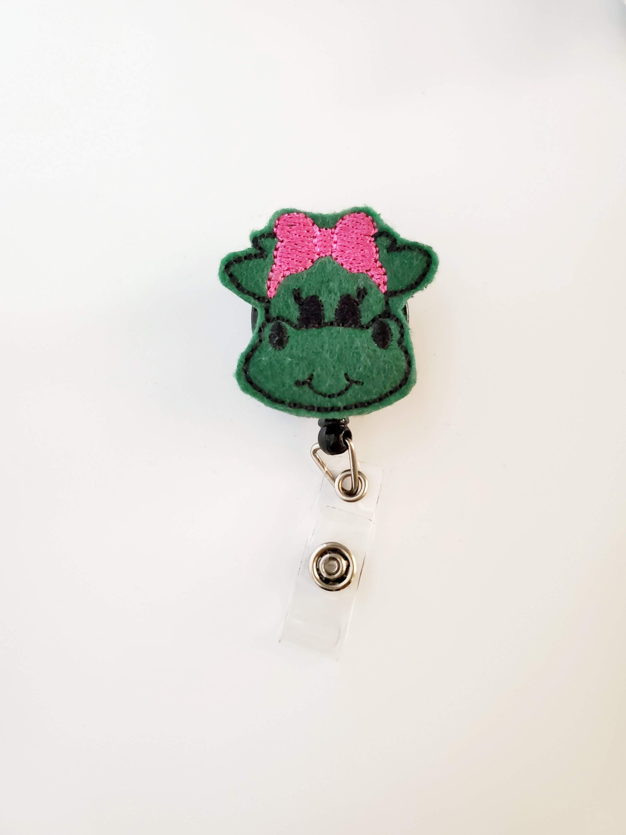 Dragon Badge Reel -Green