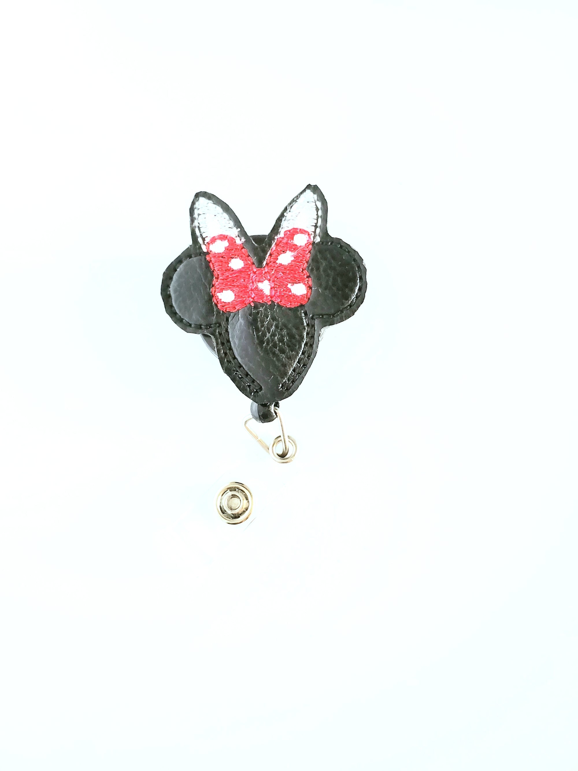 Bunny Mouse Ears Badge Reel