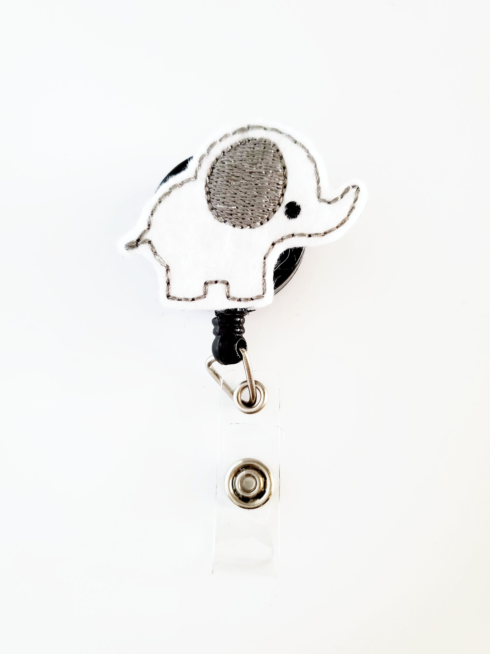 Cute Elephant Badge Reel