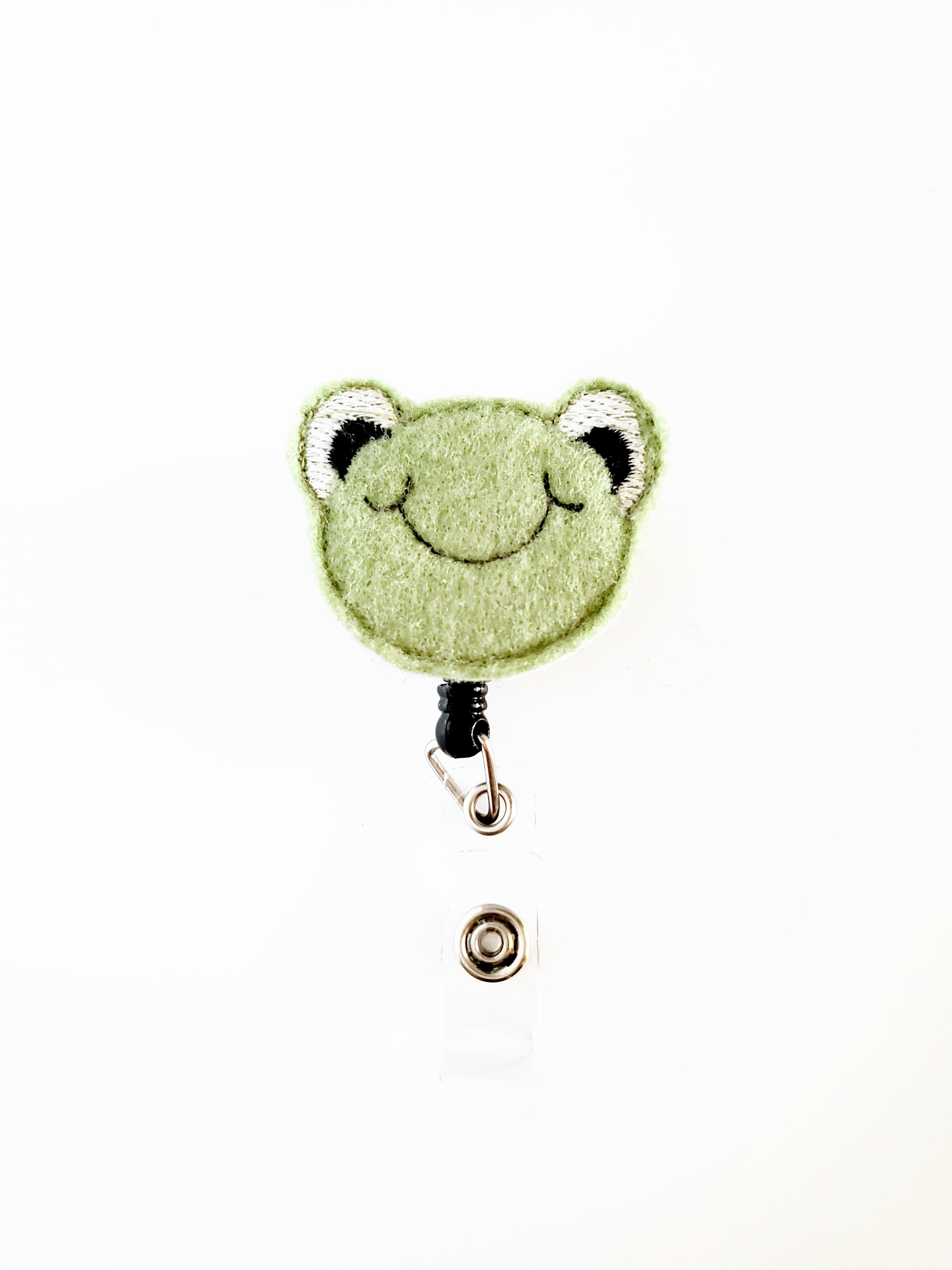 Frog Badge Reel