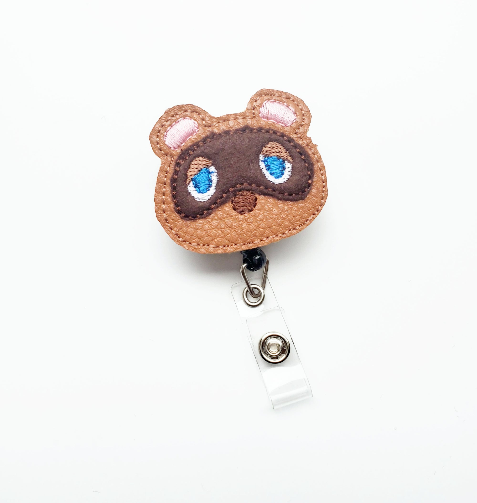 Tom Nook Badge Reel - Animal Crossing - Exclusive