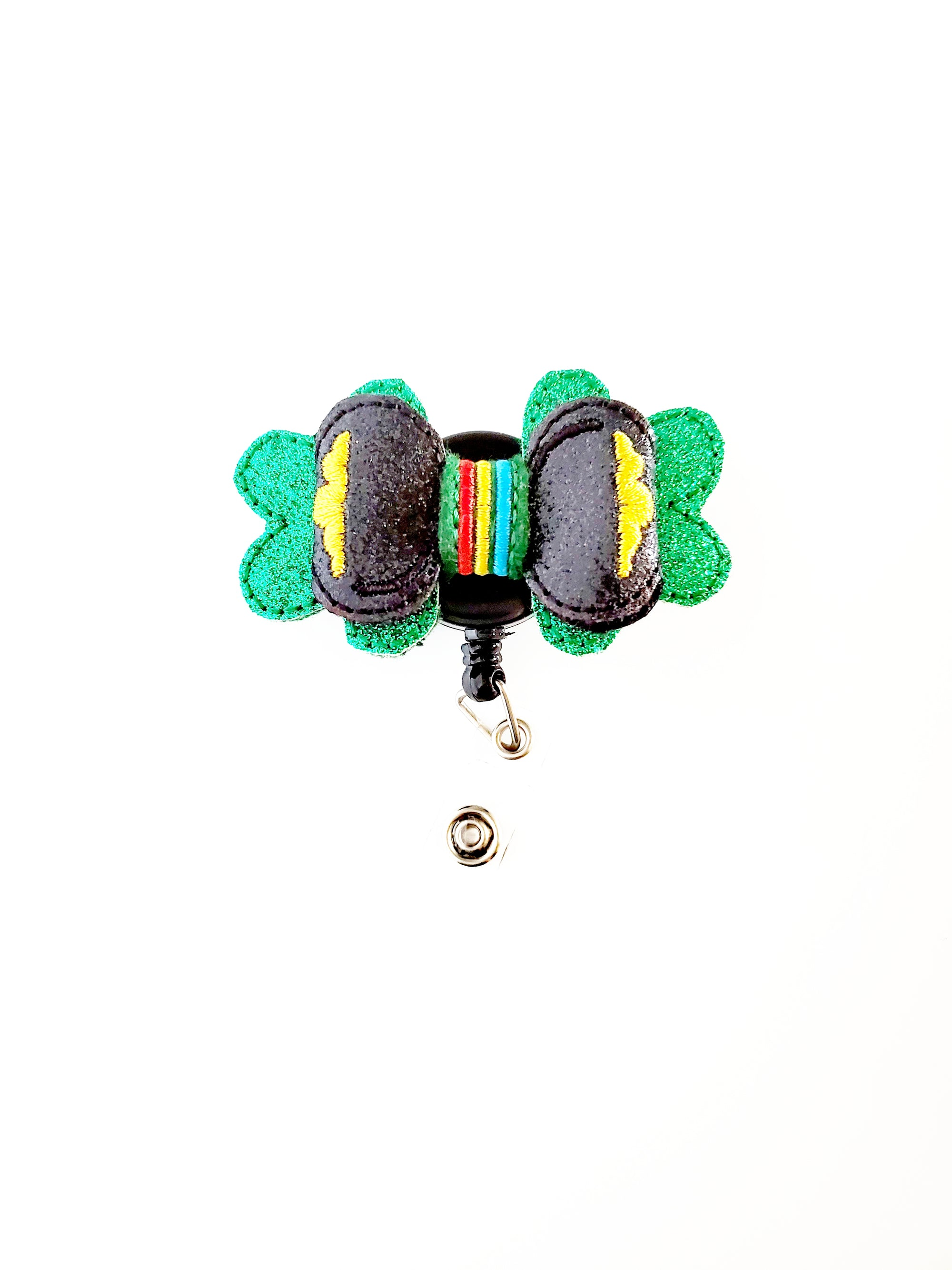 Saint Patrick's Day Bow Badge Reel