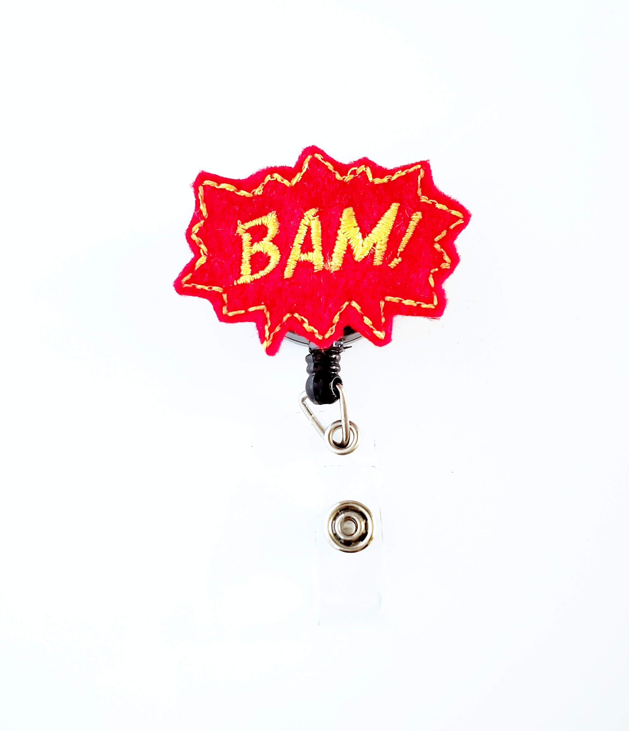 Bam! Gold Outline Badge Reel