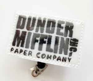 Dunder Mifflin Badge Reel - The Office
