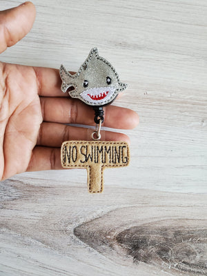Shark Badge Reel