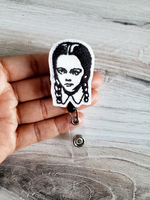 Wednesday Addams Badge Reel