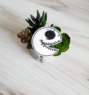 Jack Skellington or Oogie Boogie Badge Reel