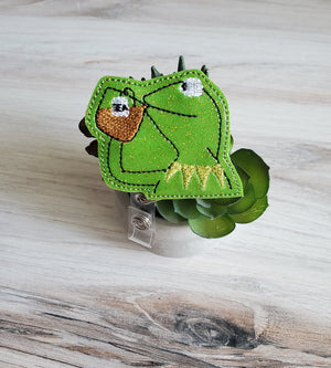 Kermit the Frog Tea Badge Reel -Glitter