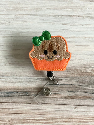 Pumpkin Pie Badge Reel