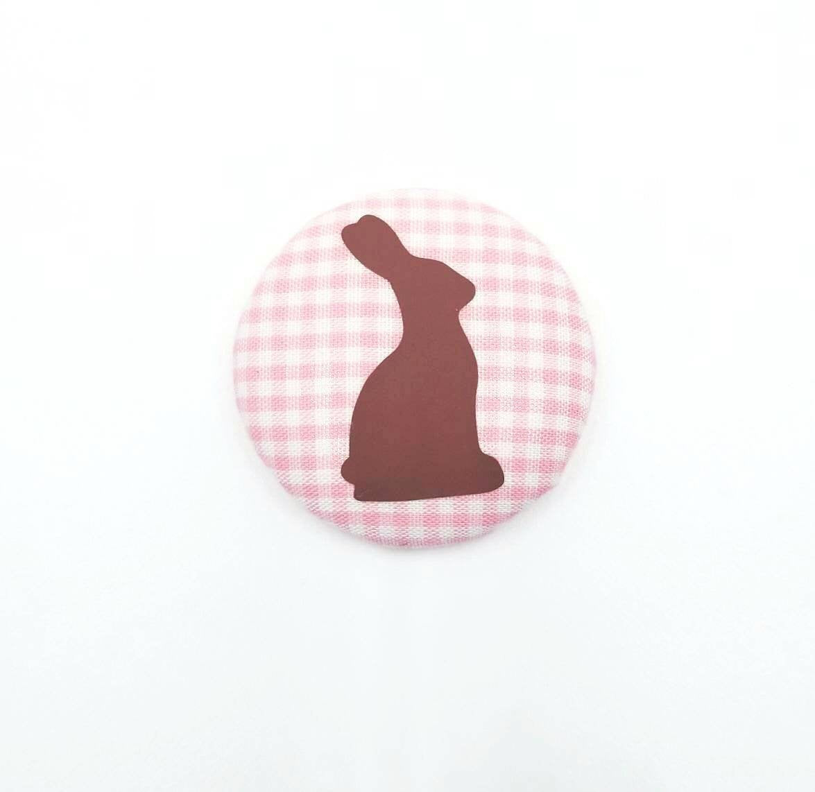 Easter Bunny Button Badge Reel - love tan co.