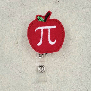 Nurse Badge Reel - Apple Pi - love tan co.