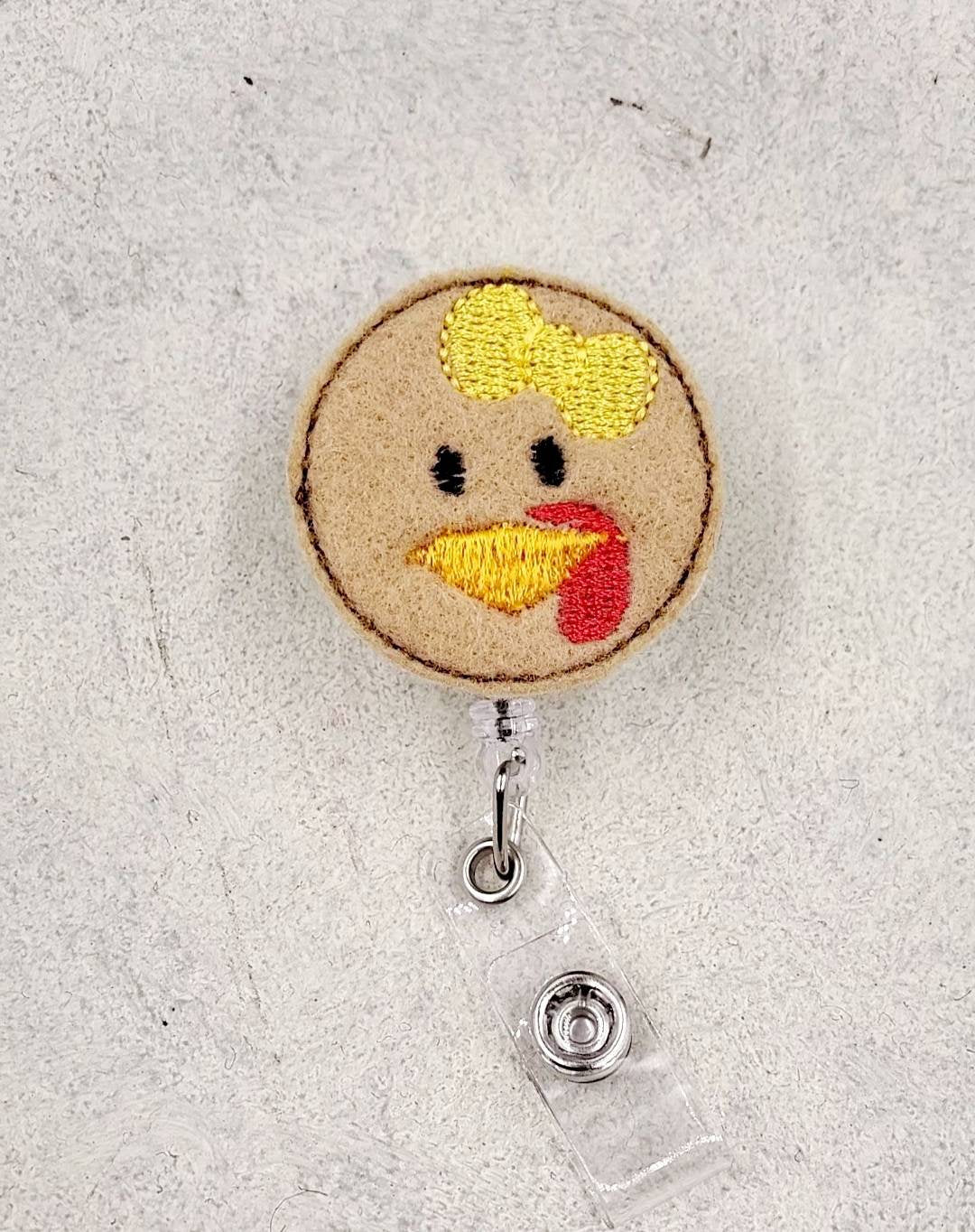 Turkey Girl Badge Reel - love tan co.