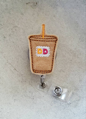 Dunkin Donuts Badge Reel - love tan co.