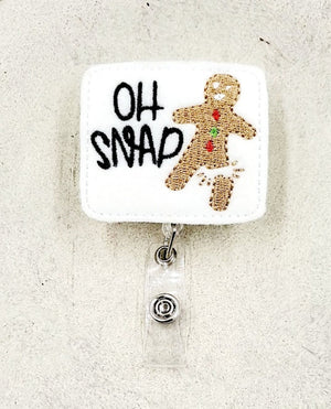 Oh Snap Gingerbread Man - love tan co.