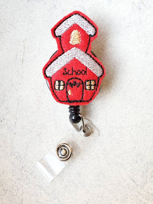 Schoolhouse Badge Reel - love tan co.