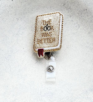 Harry Potter Book Badge Reel - love tan co.