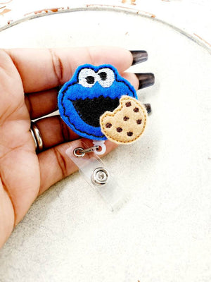Cookie Monster Badge Reel - love tan co.