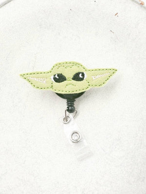 Baby Yoda Badge Reel (Face) - love tan co.
